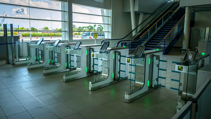 Security Checkpoint eGates installed at Sint Maarten
