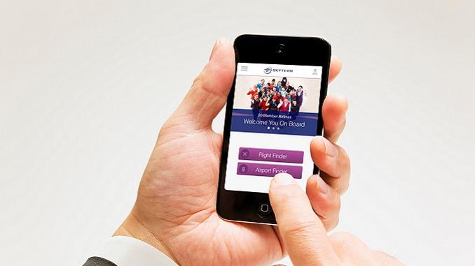 SkyTeam mobile app