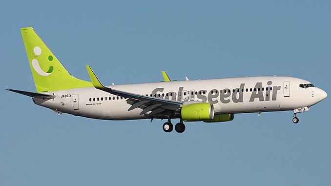 Solaseed Air 737-800