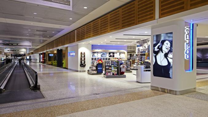 Sydney Airport terminal interior