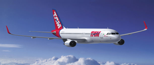 TAM becomes first A350 XWB operator from the Americas