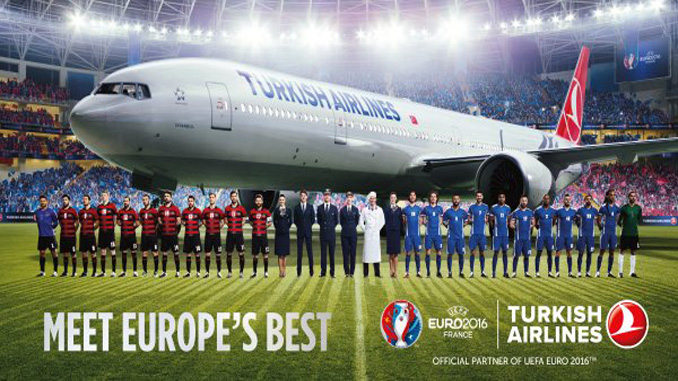Turkish Airlines to stream Euro 2016 matches live