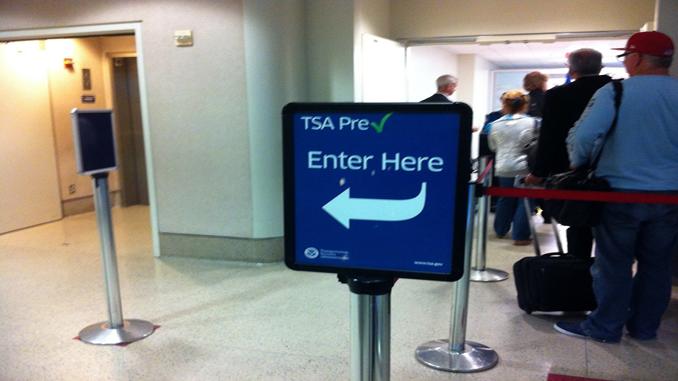 TSA Pre 2013