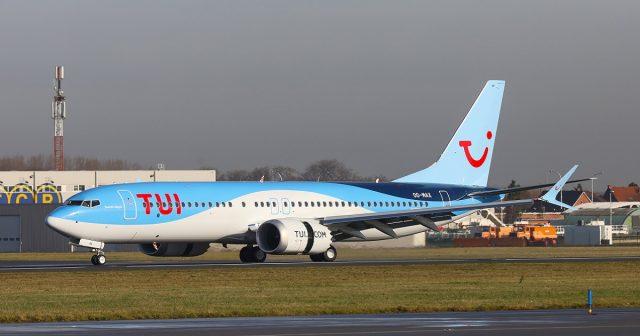TUI fly Belgium 737 MAX