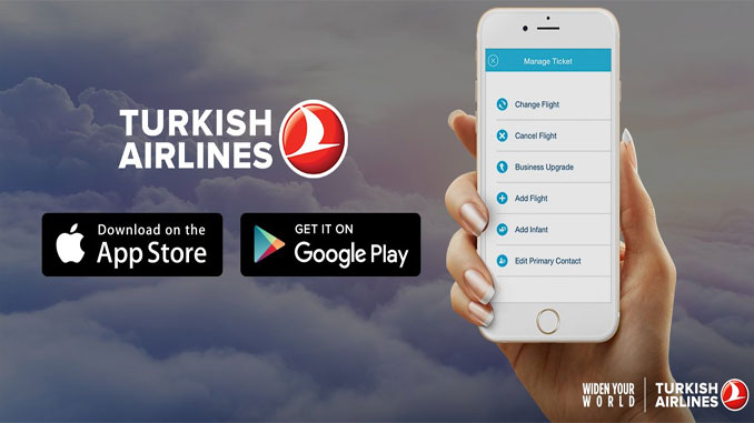 Turkish Airlines updates its mobile app