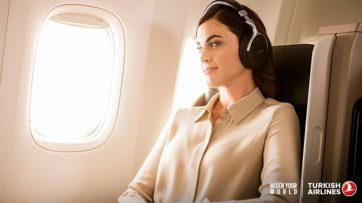 Turkish Airlines adds Denon headphones in Business Class