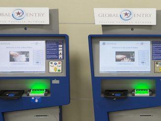 US Global Entry kiosks