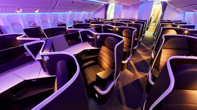 Virgin Australia unveils new international business class