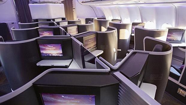 Virgin Australia new domestic business class