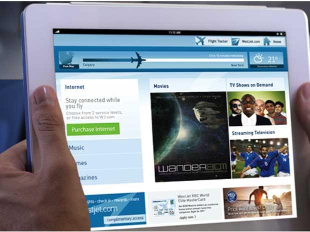 WestJet begins rolling out wireless Internet connectivity