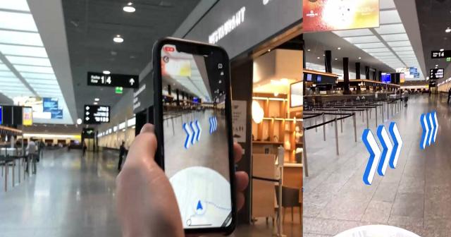 Zurich Airport Google Maps Live View