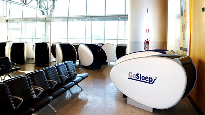 Finavia installs sleeping pods at Helsinki