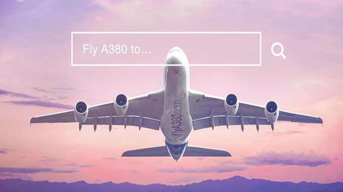 Book the A380 on iflyA380