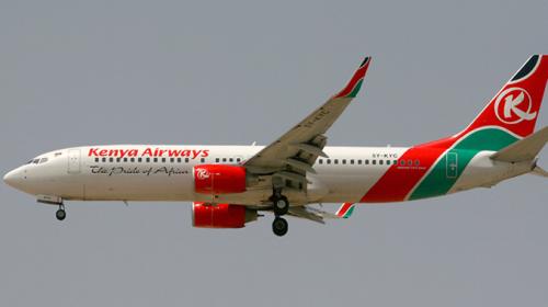 Kenya Airways Boeing 737-800